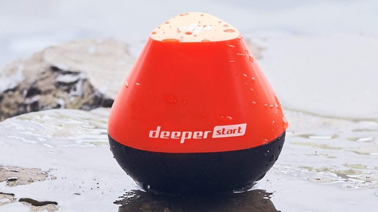 Deeper START smart fish finder lets you see what's underwater on your smartphone