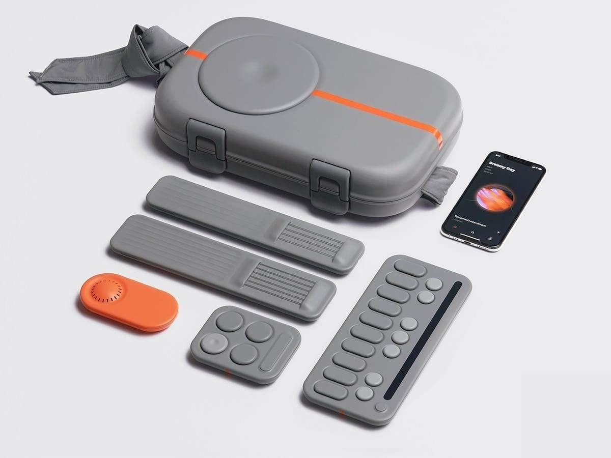 Drop music-based gaming hardware allows you to play along with your favorite tracks