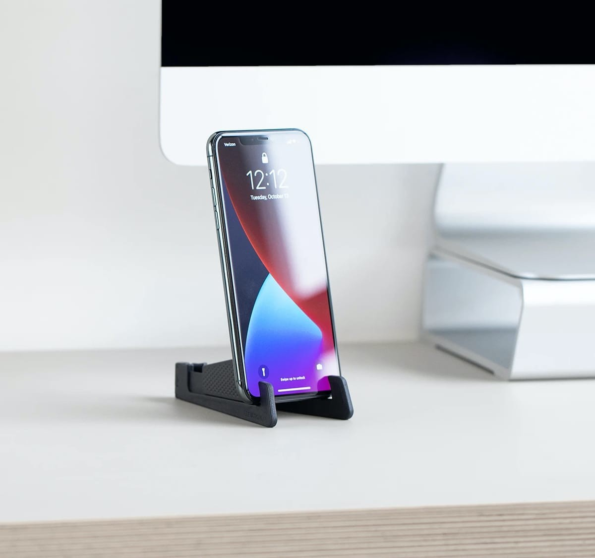 ElevationLab GoStand adjustable iPhone stand has a compact, portable design