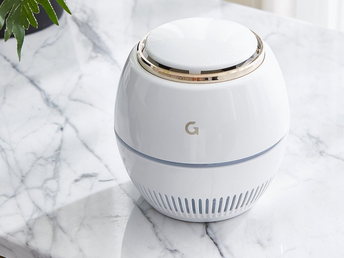GAZE Air One air purifier for home and office decomposes harmful airborne substances