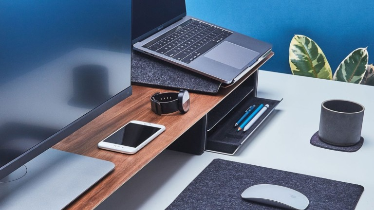 "<em class=""algolia-search-highlight"">Grovemade</em> Ergonomic Laptop Lift elevates your device for a more comfortable position"