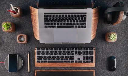 Grovemade Walnut Laptop Stand