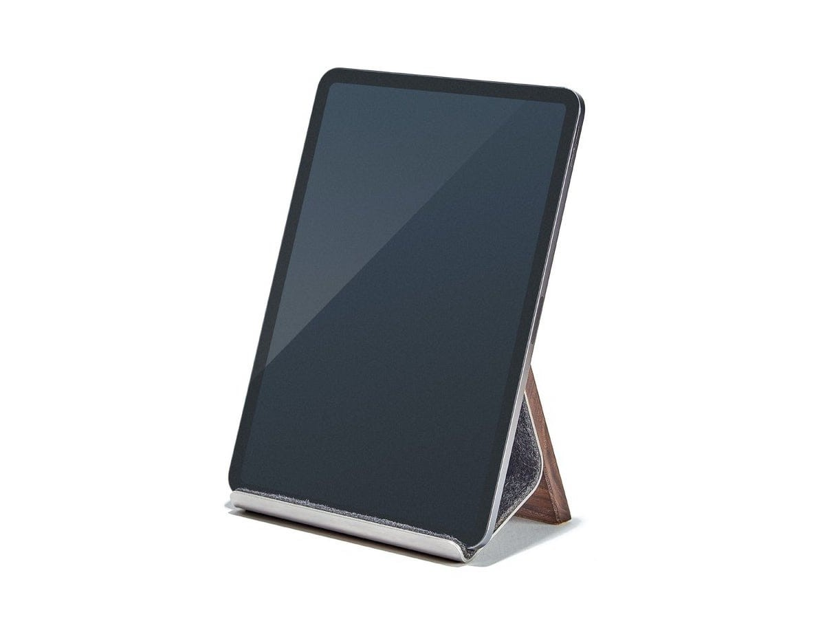 Grovemade Wood iPad Stand keeps your gadget at just the right angle