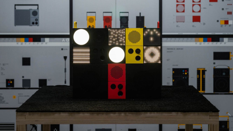 Ikea FREKVENS light and sound system has a buildable design that you can customize