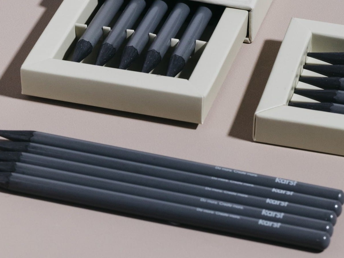 Karst Woodless Pencils are made of 100% graphite