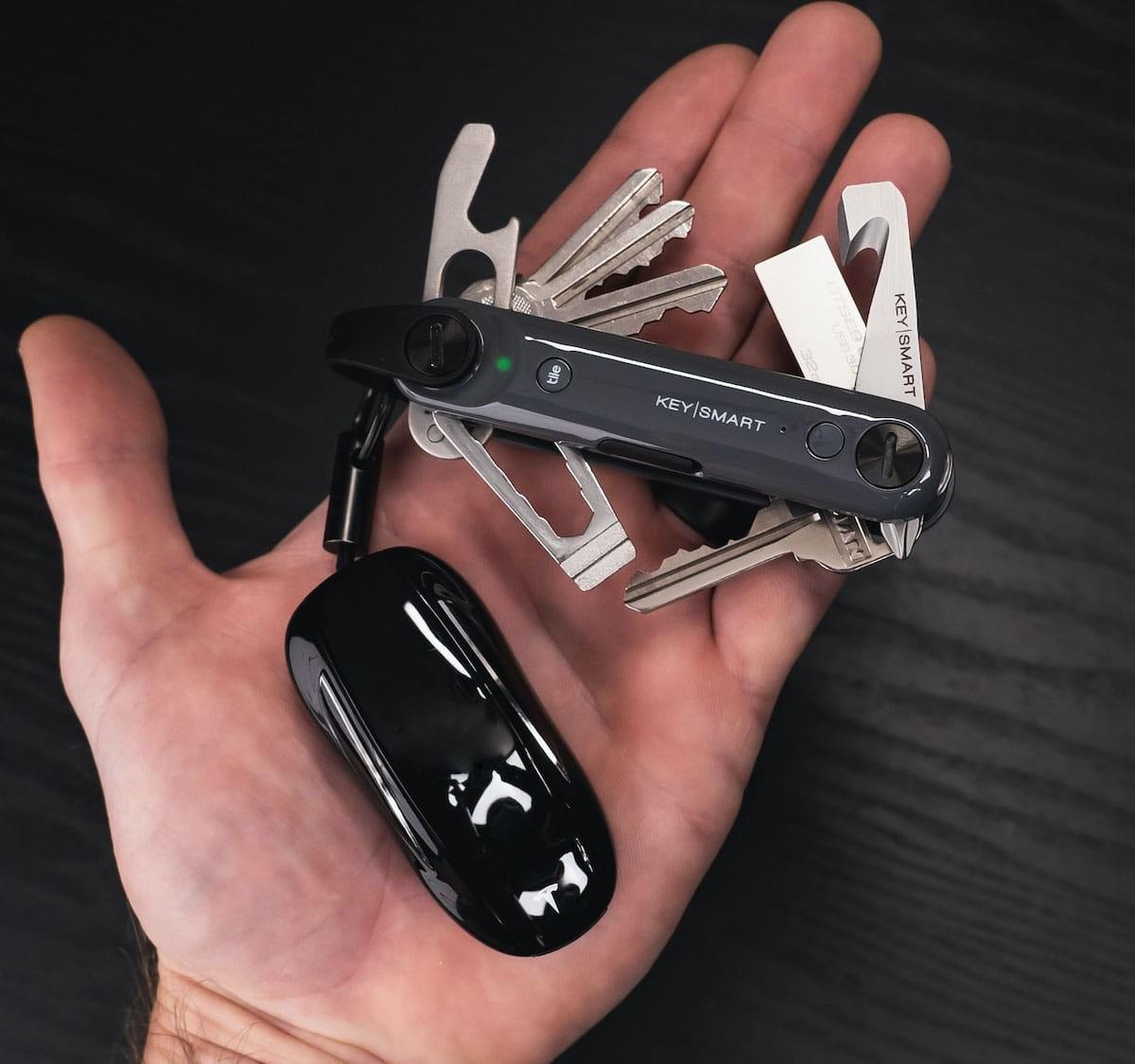 KeySmart Max smart key organizer helps you locate lost items