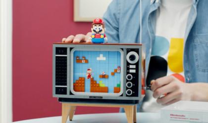 LEGO Nintendo Entertainment System Retro Mario Game