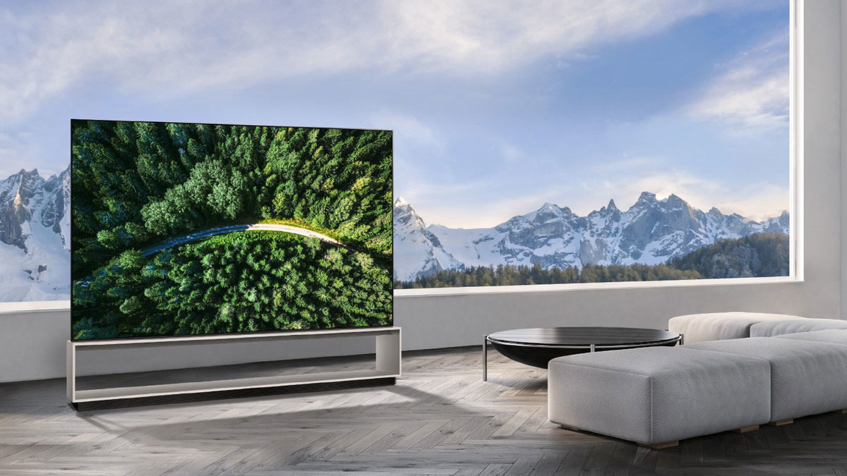 LG Real 8K OLED HD TV