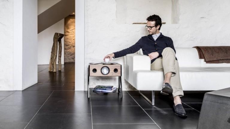 La Boite CUBE immersive loudspeaker also doubles as a coffee table