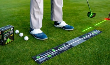 LaserPutt putting aid