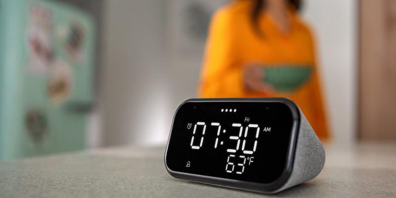 Lenovo Smart Clock Essential voice-assistant