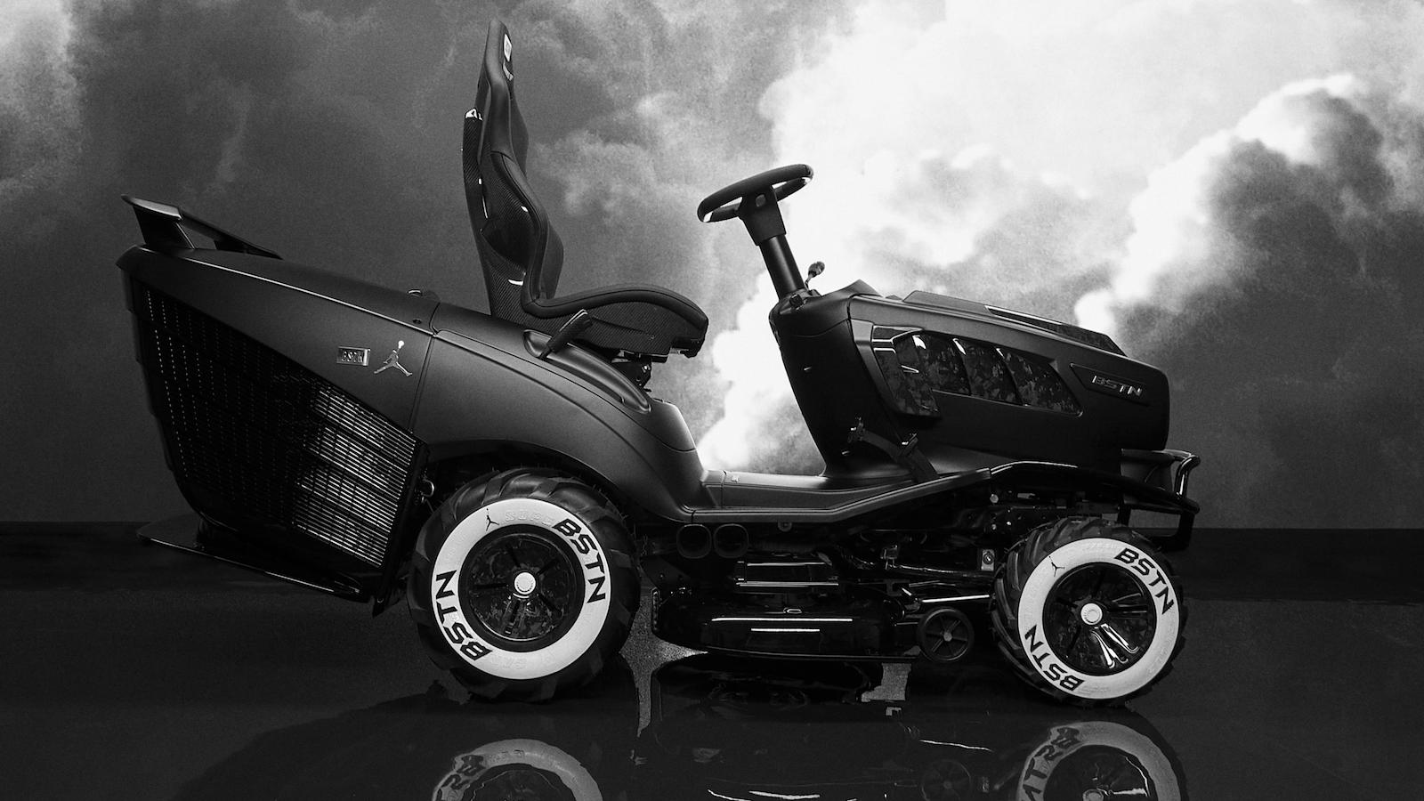 MANSORY BSTN GT XI luxury lawnmower pays homepage to the first Air Jordan sneakers