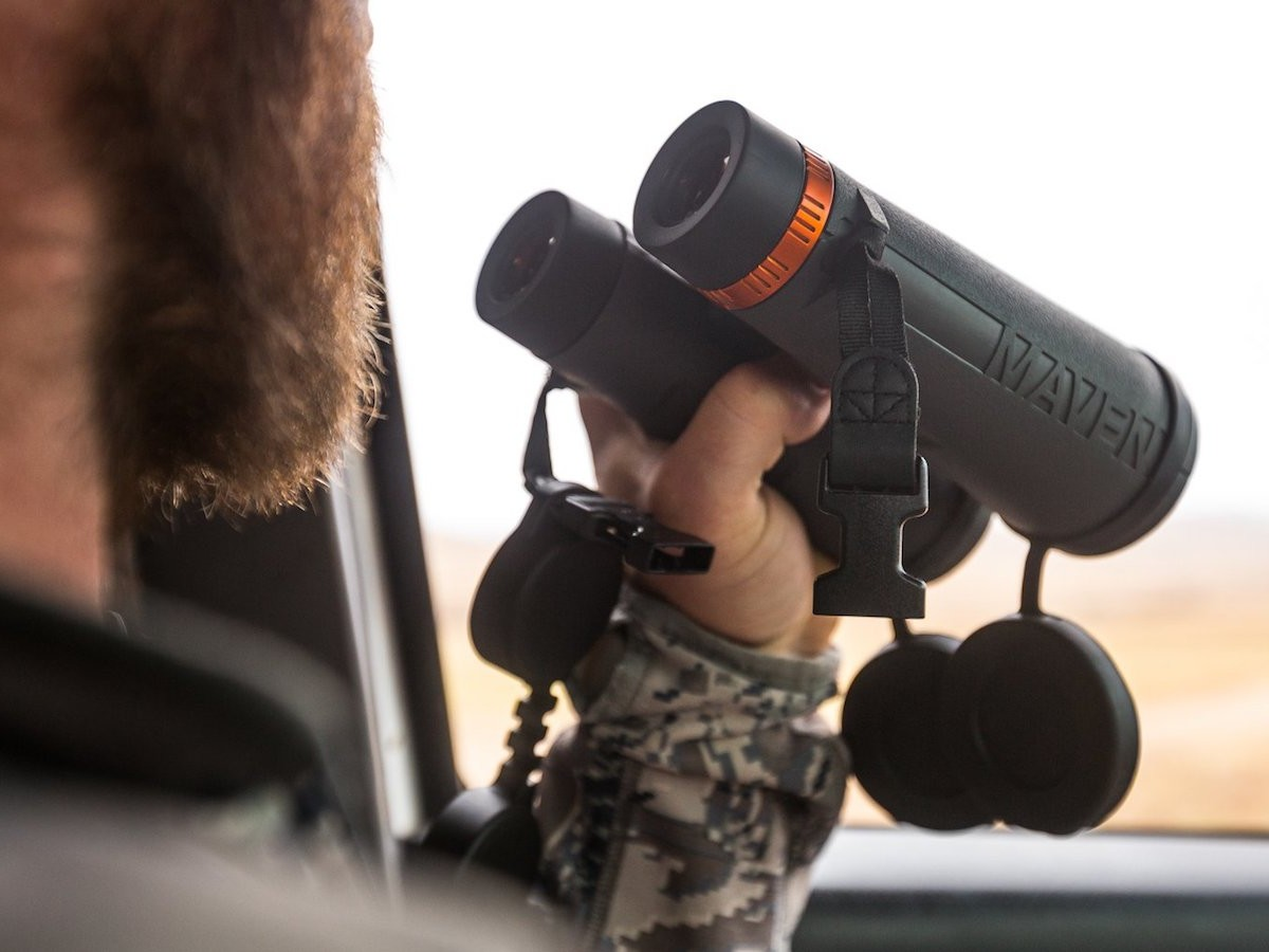 MAVEN C.3 full-size binoculars feature a large objective lens to capture every detail