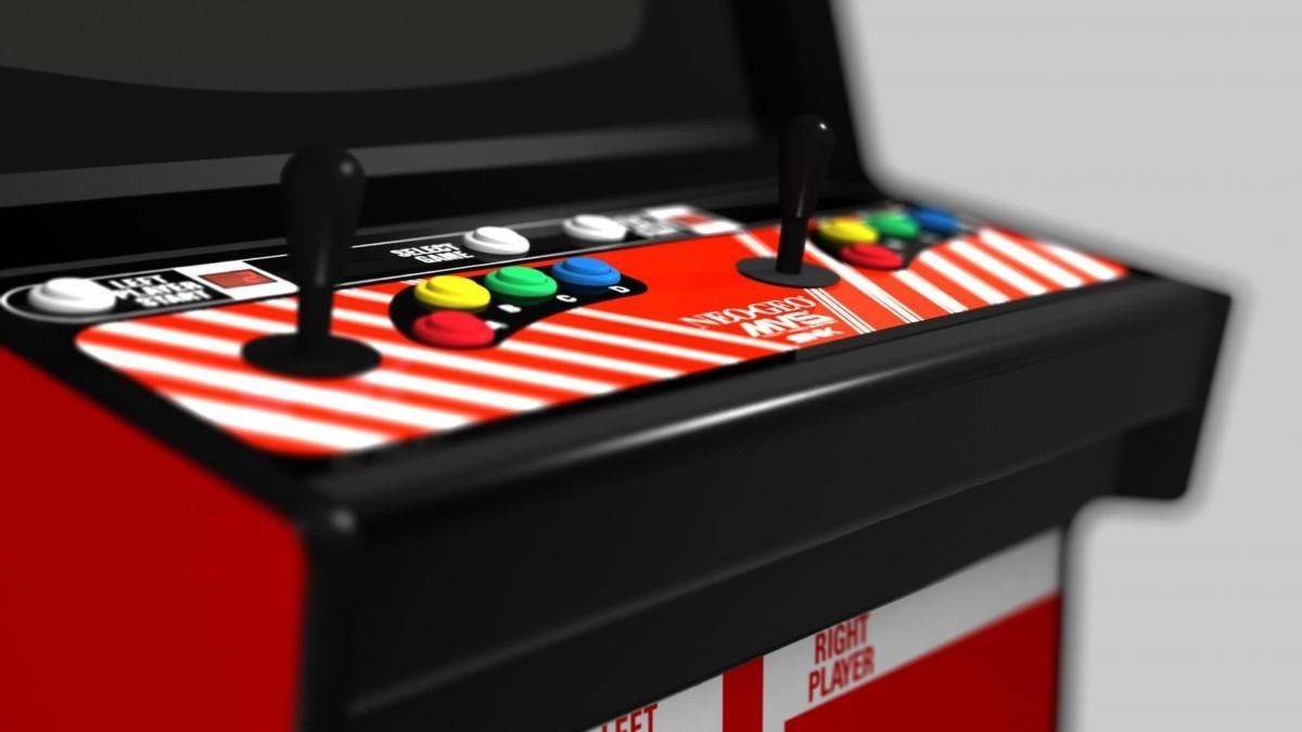 MVSX Home Arcade multivideo system