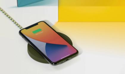 Maison Kitsuné x Native Union Drop Wireless Charger phone pad