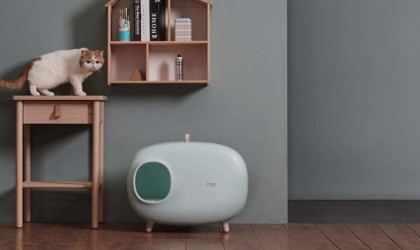 Makesure Modern Cat Litter Box