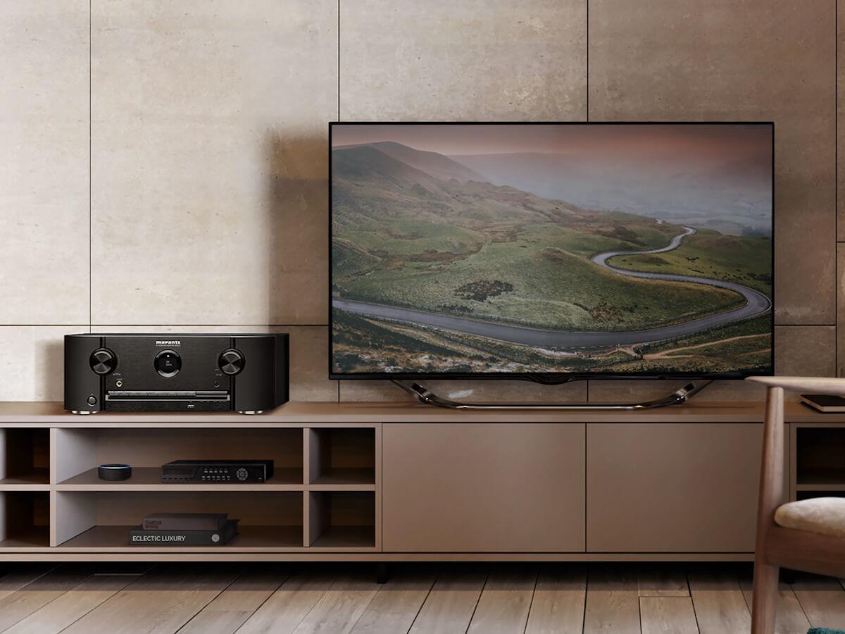 Marantz SR5015 8K AV amplifier delivers powerful surround sound in your home