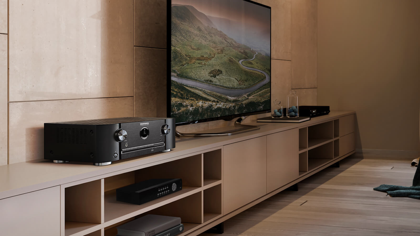 Marantz SR5015 8K AV amplifier delivers powerful surround sound in your home