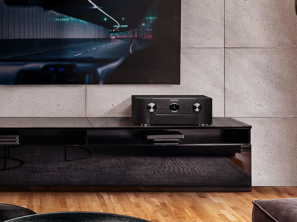 Marantz SR6015 9-channel amplifier offers 110 watts per channel for impressive power