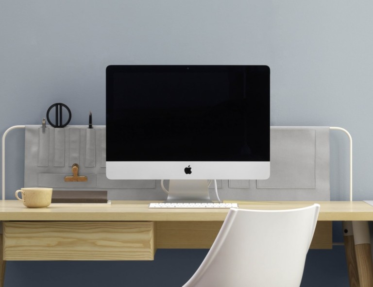 Mario Tsai Pure Desk Handcrafted Wooden Workspace