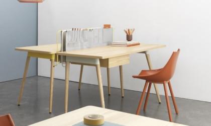 Mario Tsai Pure Desk Handcrafted Wooden Workspace