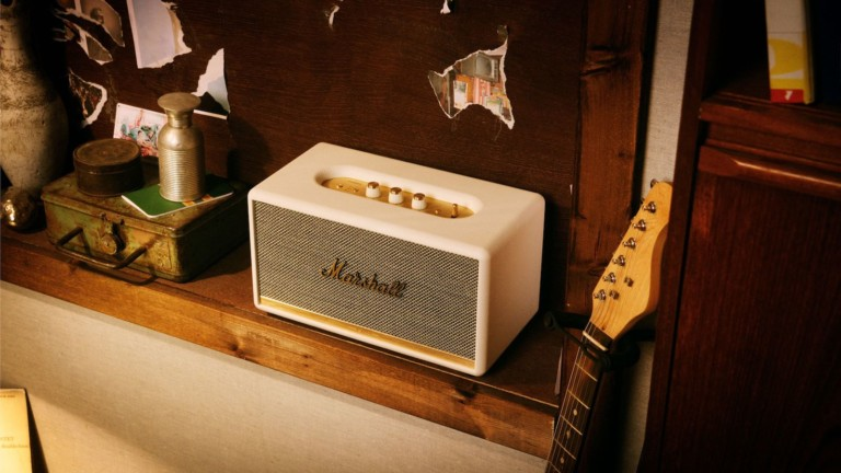 Marshall Stanmore II Bluetooth speaker features controls to fine-tune your music