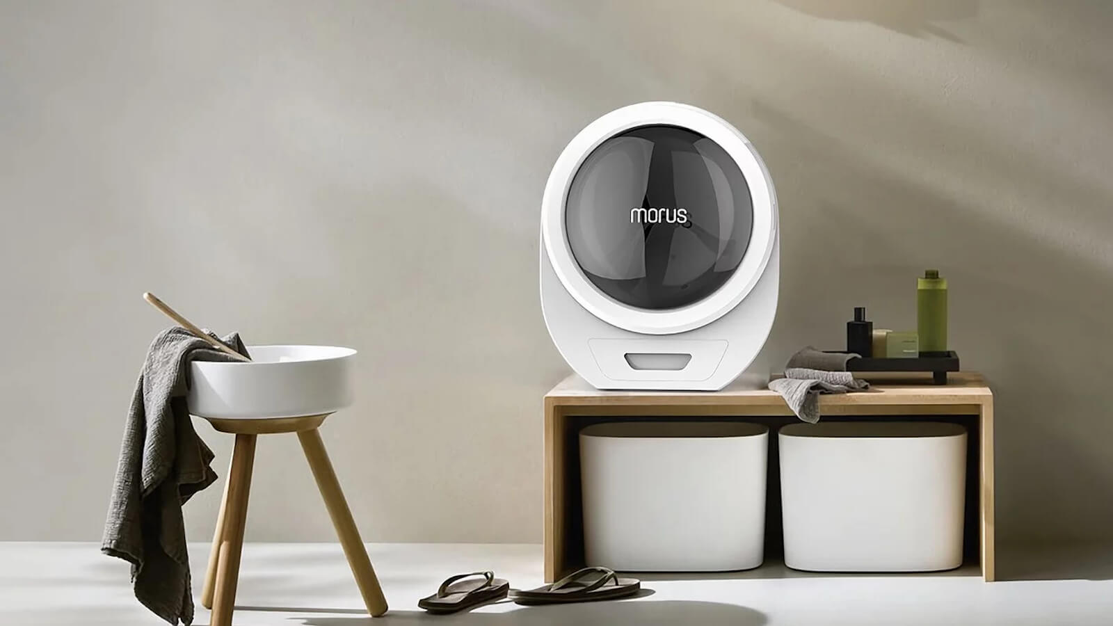 Morus Zero vacuum clothes dryer has an ultrafast drying time of 15 minutes