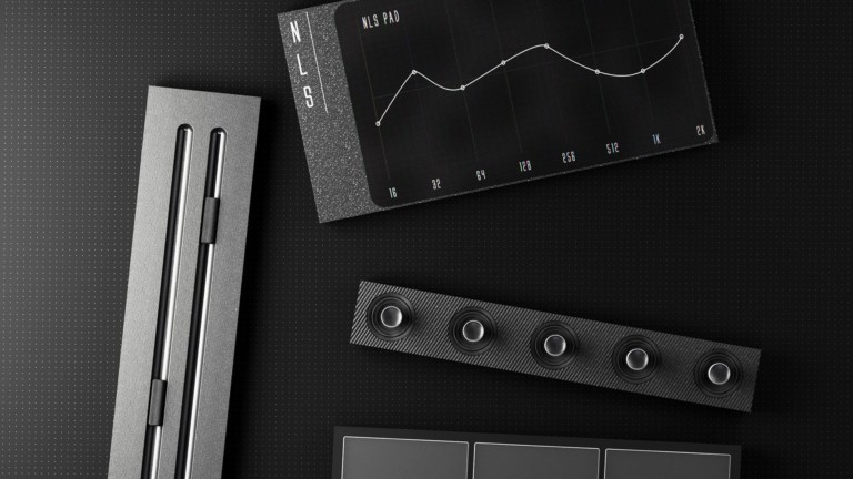 NLS MIDI controller concept consists of multiple connectable components