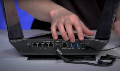 Netgear Nighthawk Tri-Band AX12 4K Wi-Fi router