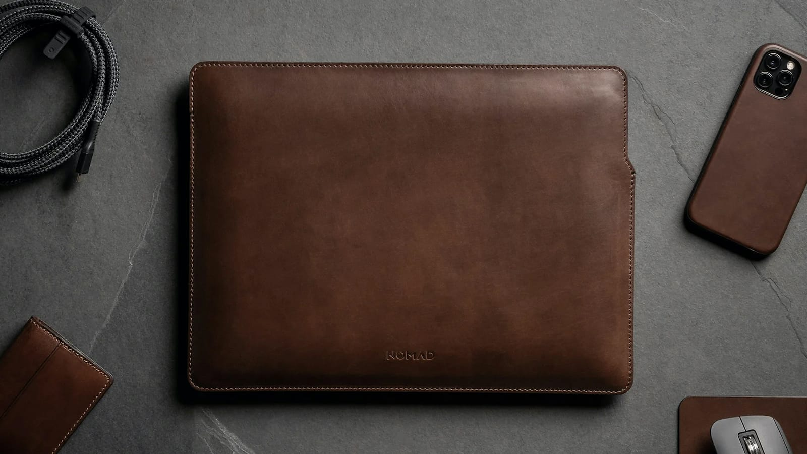 Nomad Leather Sleeve MacBook Pro cover is slim yet protective
