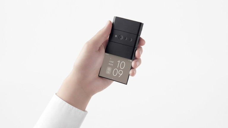 OPPO x nendo Conceptual Slide-Phone folds into three different screen sizes
