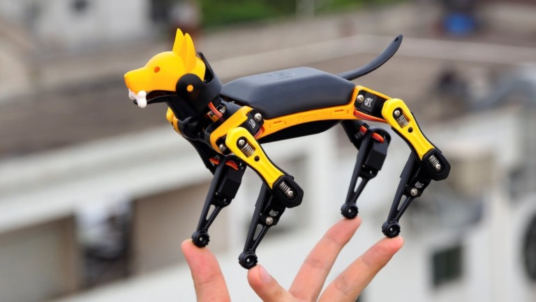 Petoi Bittle palm-size robot dog