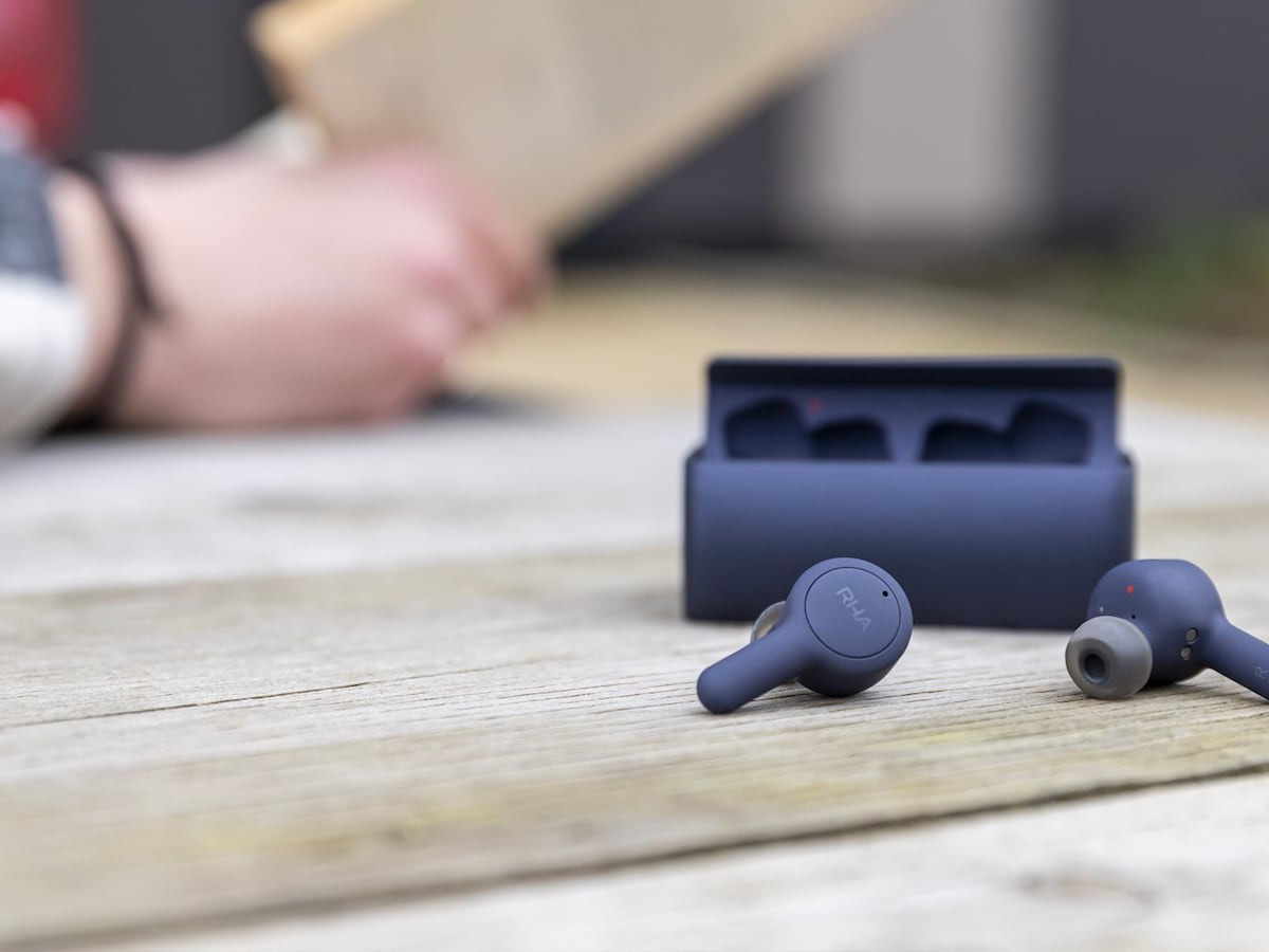 RHA TrueConnect 2 Bluetooth 5 earbuds offer 44 hours of battery life