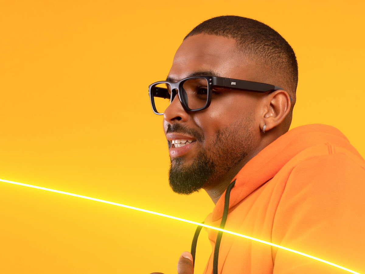 Revel Tune smart audio glasses feature open-ear sound and a 3-hour battery life