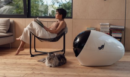 SPACE KOTTY smart cat litter box