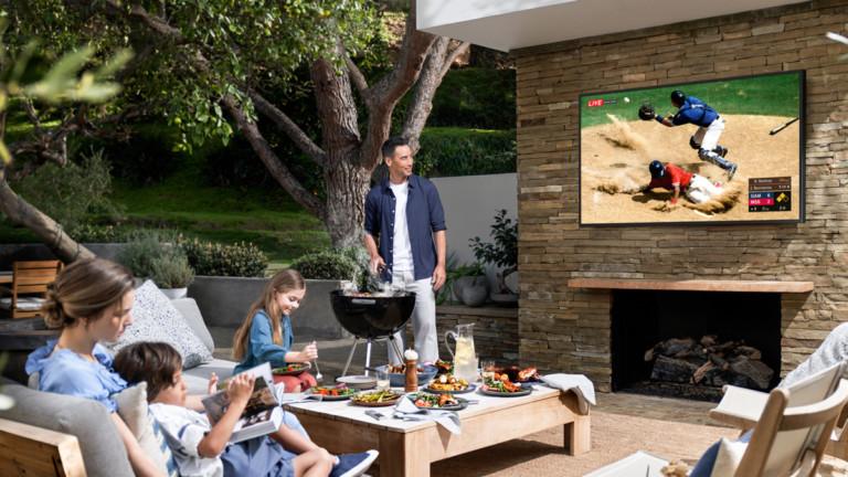 Samsung The Terrace QLED 4K Outdoor Smart TV