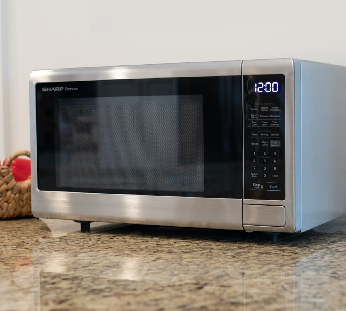 Sharp Smart Countertop Microwave Ovens offer Wi-Fi & Alexa connectivity