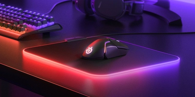 SteelSeries QcK Prism Cloth Medium Gaming Mouse Pad