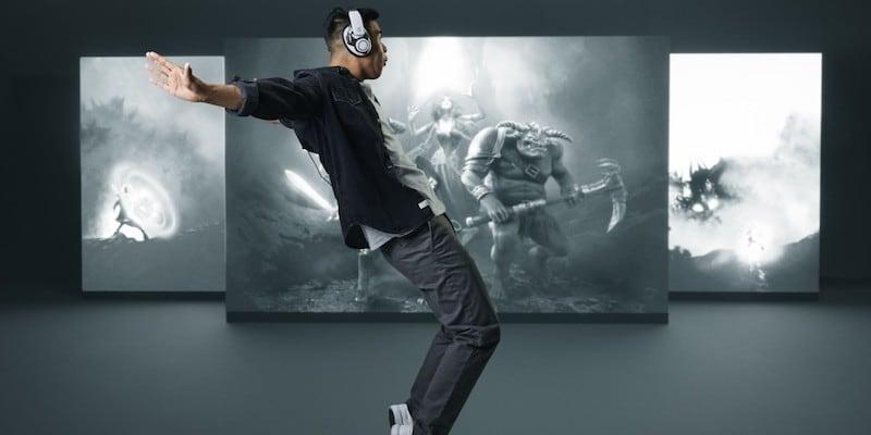 EPOS GSP 600 series hi-fi gaming headset design