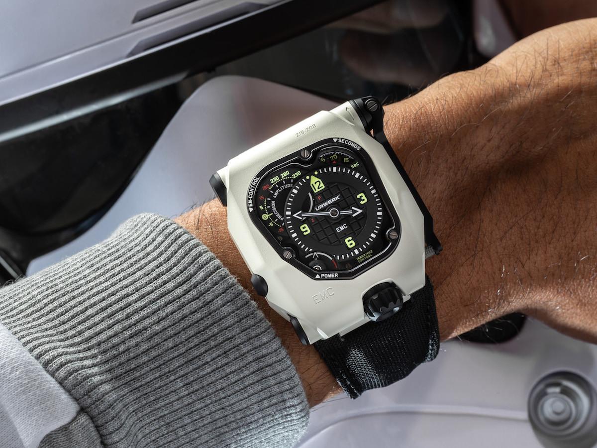 URWERK EMC Time Hunter mechanical watch is waterproof and built for durability