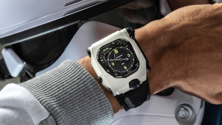 URWERK EMC Time Hunter mechanical watch is waterproof and built for durability