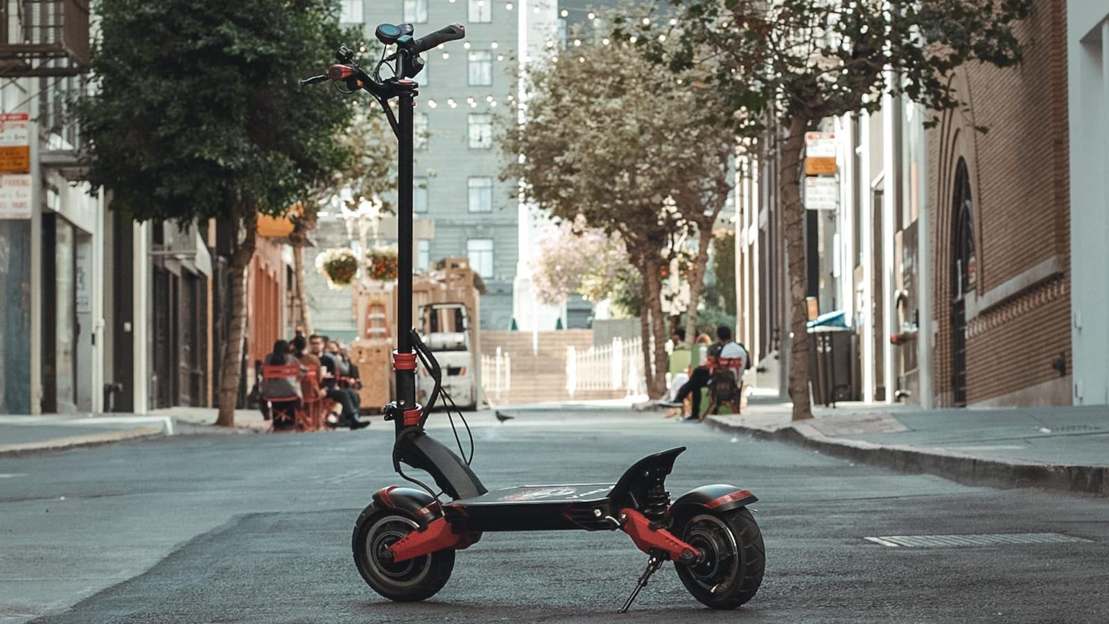 Varla Eagle One dual-motor electric scooter offers safety, speed, and style