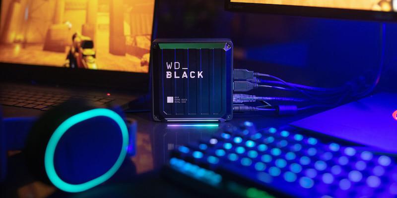 Western Digital D50 Game Dock NVMe SSD