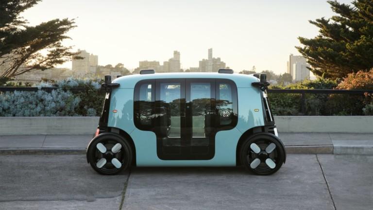 Zoox autonomous personal vehicle
