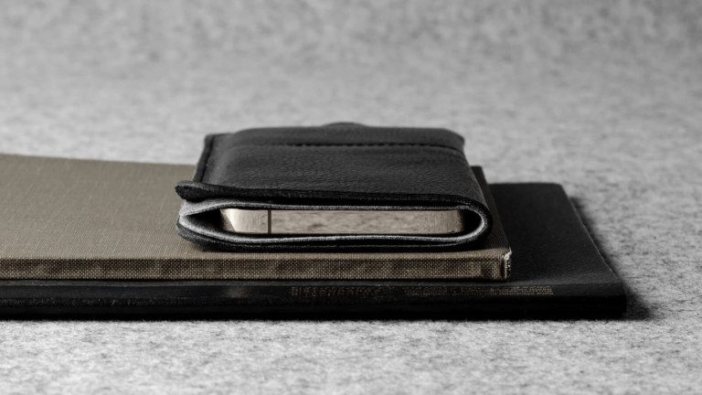 hardgraft Wild iPhone 12 Case uses minimal stitching and features a slim profile