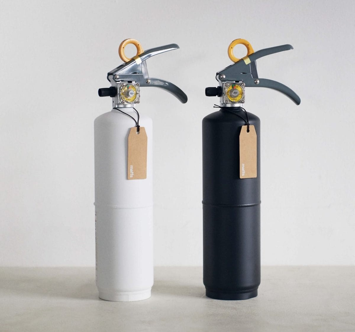 +maffs Residential Fire Extinguisher has a design that will complement your home
