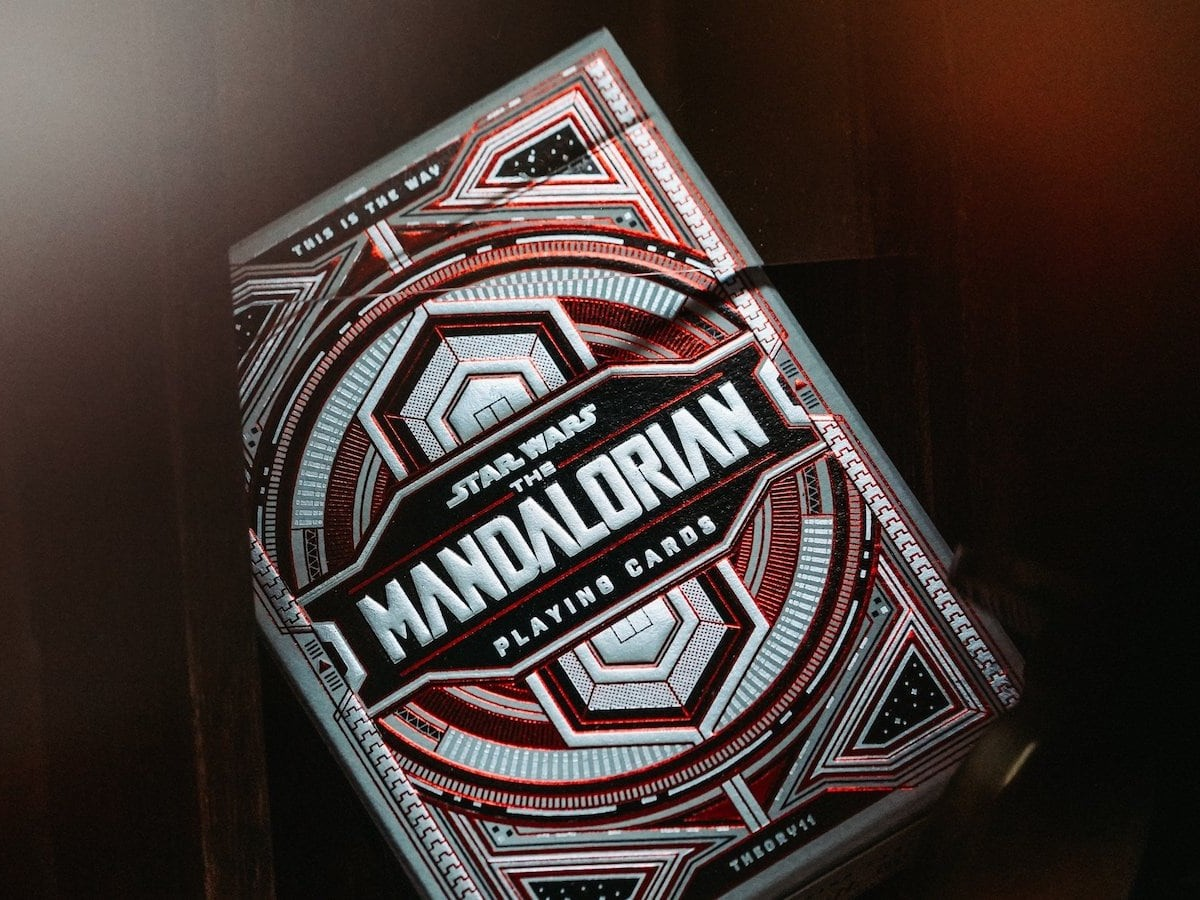 theory11 The Mandalorian Playing Cards have unrivalled print quality