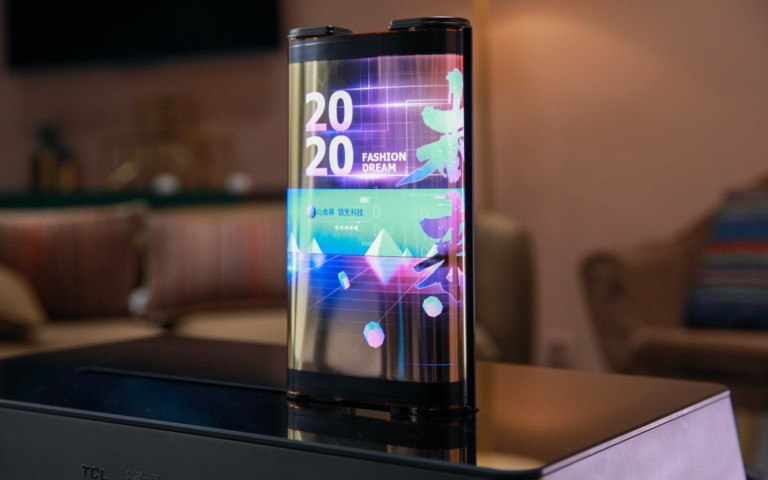 TCL announces a 17-inch concept tablet with a scroll display at CES 2021