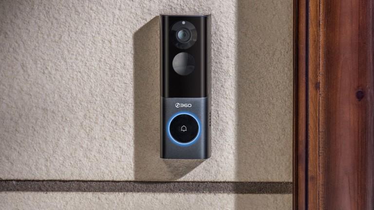 360 Video Doorbell X3 radar sensor doorbell boasts a 5 MP HD camera