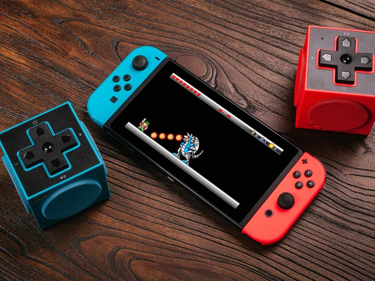 8Bitdo Twincube Stereo Speakers are a portable way to listen to music and play games